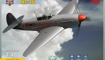 1/48 Yak-1B Soviet fighter