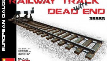 1/35 Railway Track & Dead End (European Gauge)