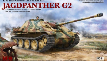 1/35 Jagdpanther G2 with workable track link
