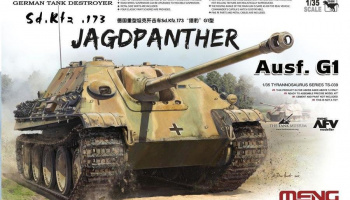 German Tank Destroyer Sd.Kfz.173 Jagdpanther Ausf. G1 1/35 – Meng