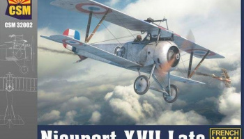 Nieuport XVII Late version 1/32 - Copper State Models