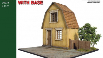 1/35 Village House with Base