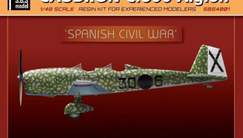 1/48 Caudron 600 'Spanish Civil War' - Resin+PE+decal - Full resin kit