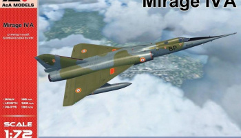 1/72 Mirage IVA Strategic bomber (re-release)