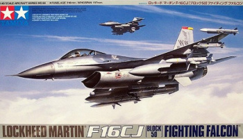 F-16CJ Fighting Falcon (1:48) - Tamiya