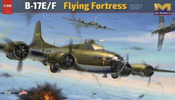 "1/32 B-17E/F ""Flying Fortress"""