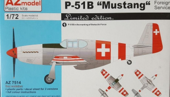 1/72 P-51B Mustang Foreign