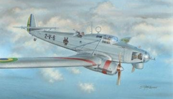 1/72 Focke Wulf Fw 58B South America