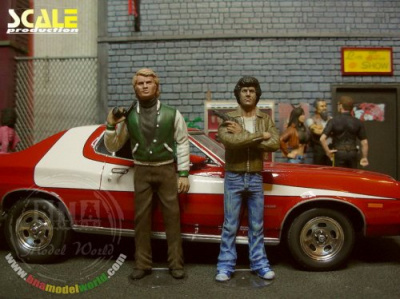 Bad city cops: Starsky and Hutch 1:24 - Scale Production