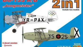 "1/72 Bücker 133 A/B ""Jungm."" double kit"