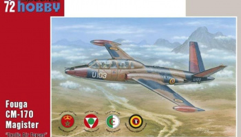 1/72 Fouga CM.170 Magister Exotic Air Forces