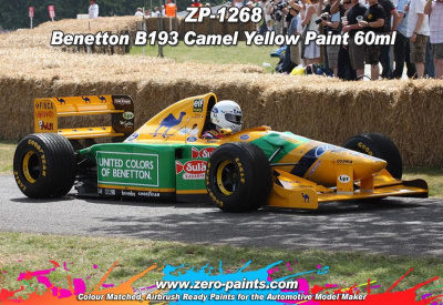 Benetton B193 Camel Yellow - Zero Paints