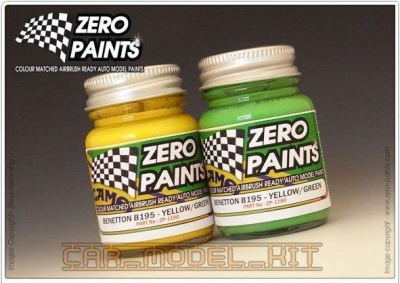 Benetton Ford B192 (2x30ml) - Zero Paints
