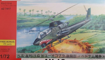 1/72 AH-1G Huey Cobra Vietnam Legends