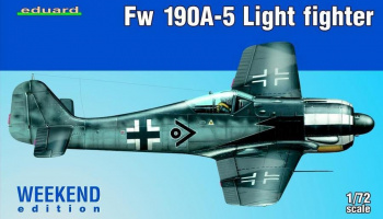 Fw 190A-5 Light Fighter (2 cannons) 1:72 – EDUARD