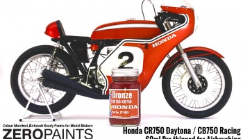 Honda CR750/CB750 Bronze Paint - Zero Paints