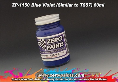 Blue Violet Paint (TS57) - Zero Paints