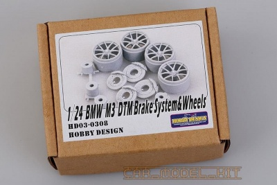 BMW M3 DTM Brake Systems & Wheels - Hobby Design