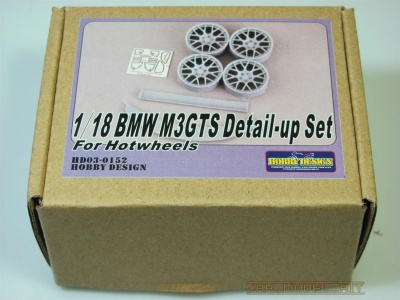 BMW M3 GTS 1/18 Detail-up Set For Hotwheels - Hobby Design