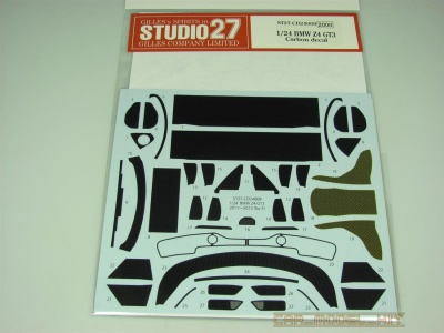 BMW Z4 GT3 Carbon decal (for FUJ) - Studio27