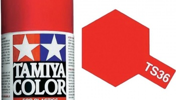 Spray TS36 Fluorescent Red - Tamiya