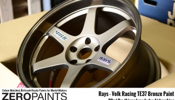 Rays - Volk Racing TE37 Bronze Paint 30ml - Zero Paints