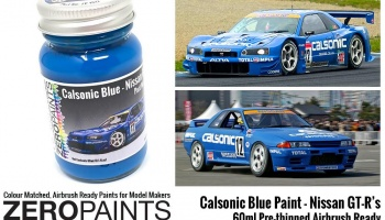 Calsonic Blue Paint 60ml - Zero Paints