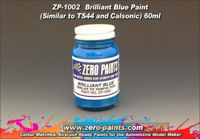Brilliant Blue Paint (TS44+Calsonic) - Zero Paints