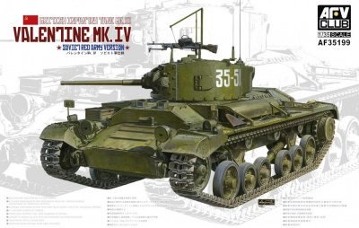 British Infantry Tank Valentine Mk.IV - Soviet Version 1/35 - AFV Club