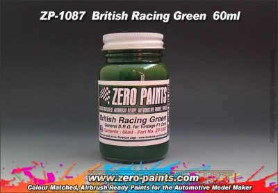 British Racing Green (Solid) Paint - Zero Paints