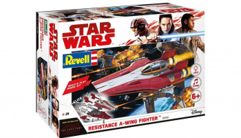 Build & Play SW 06759 - Resistance A-wing Fighter (červený)