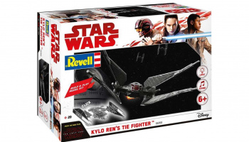 Build & Play SW 06760 - Kylo Ren's TIE Fighter – Revell
