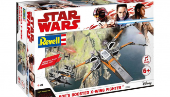 Build & Play SW 06763 - Poe's Boosted X-wing Fighter – Revell