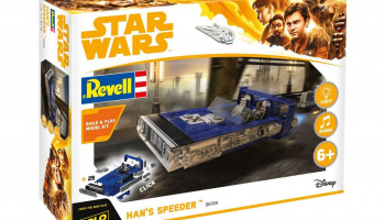 Build & Play SW 06769 - Han's Speeder (1:28)