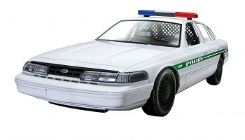 Build & Play auto 06112 - Ford Police Car (1:25) - Revell