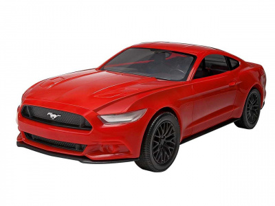 Build & Play auto 06110 - 2015 Ford Mustang (1:25) - Revell