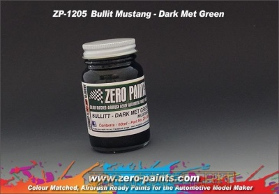 Bullit Mustang - Dark Met Green - Zero Paints