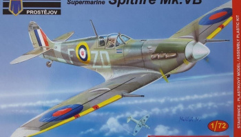 1/72 Supermarine Spitfire Mk.VB Early Aces RAF