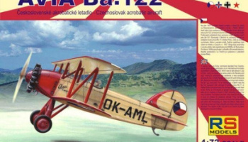 1/72 Avia Ba.122 with Castor, Pollux