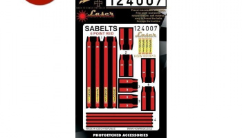 1/24 Sabelt Red - Six Point