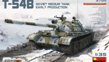 1/35 Soviet Medium Tank T-54B (Early Production) Interior Kit