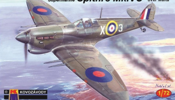1/72 S.Spitfire Mk.VC Four Barrels over Malta