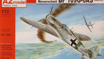 1/72 Bf 109G-6AS Reich defence