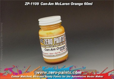 Can-Am McLaren - Orange - Zero Paints