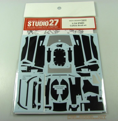 Carbon decal for Enzo Ferari (for TAM) - Studio27
