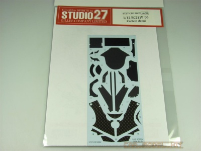 Carbon decal for RC211V (2006) - Studio27
