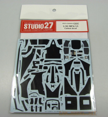 Carbon decal McLaren MP4/13 (for TAM) - Studio27