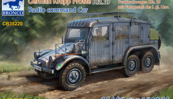 German Krupp Protze Kfz. 19 Radio Command Car 1/35 - Bronco