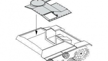 1/35 StuG III Ausf.G Correction Roof early version