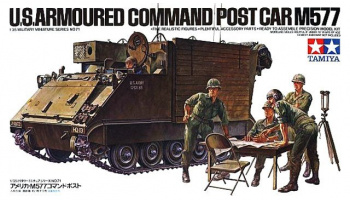 U.S. Armoured  Command Post Car M577 (1:35) - Tamiya